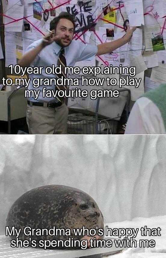 wholesome memes - grandma