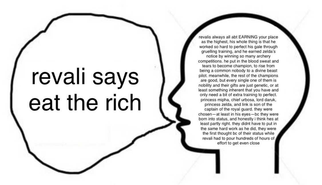 zelda meme - eat the rich