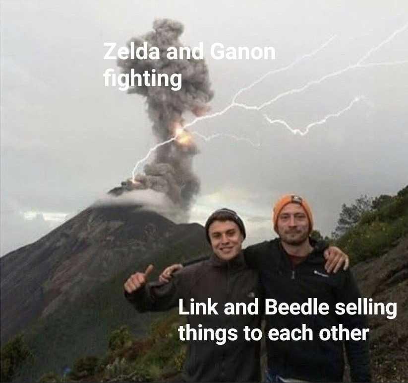 zelda botw memes - priorities
