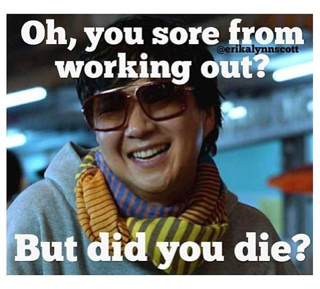 funny gym memes - did the workout kill you