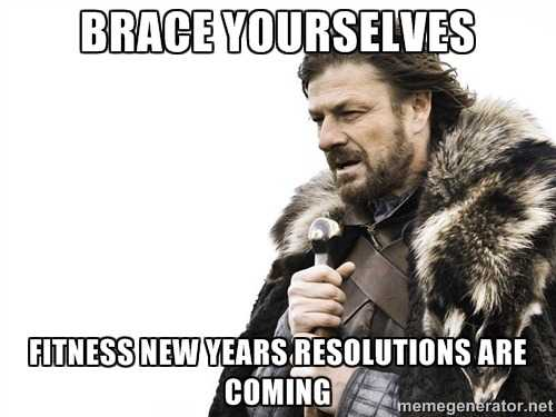 funny gym memes - new years time
