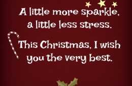 Uplifting Christmas Quotes - Sparkle