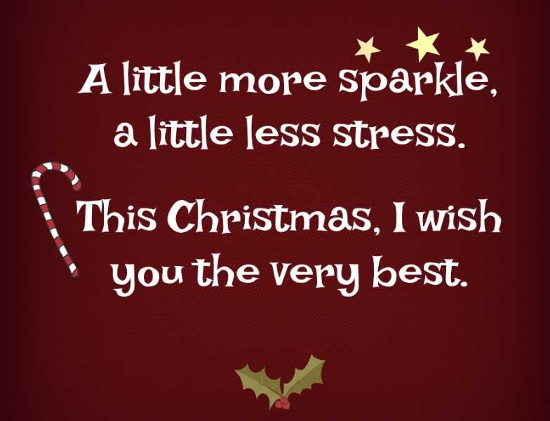 uplifting christmas sayings