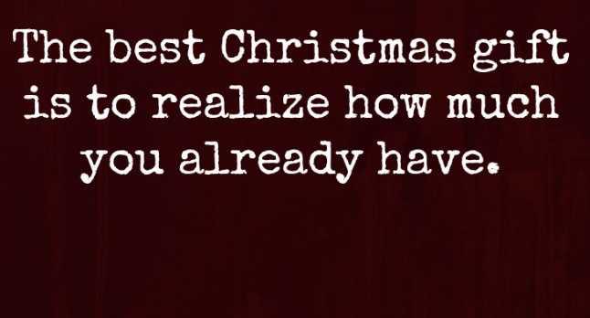Uplifting Christmas messages - christmas gift