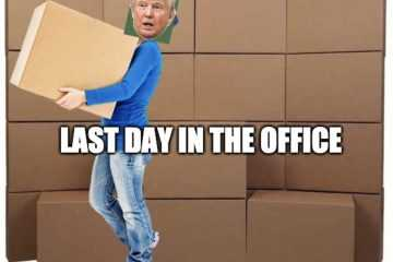 Trump Last Day Meme - Don'T Let Door Hit You On Way Out