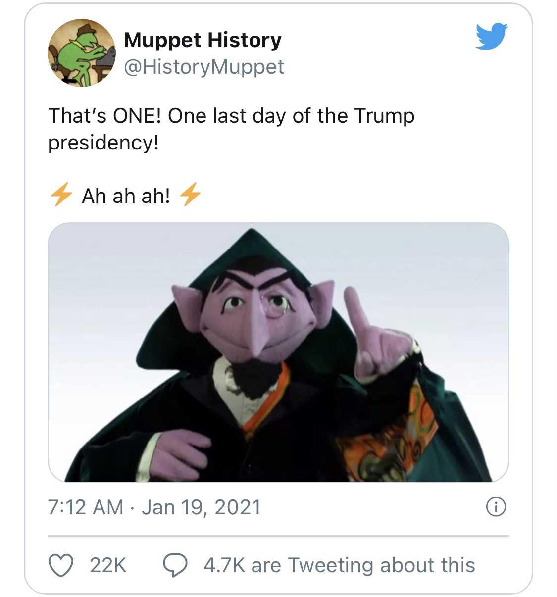 Trump Last Day Memes - Count Dracula