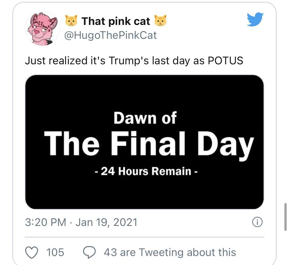 Trump Last Day Memes - Final Day