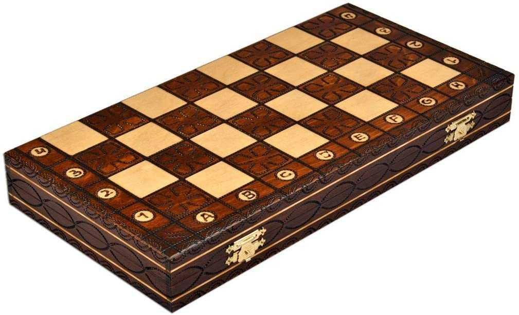 Weigel Junior Chess Set - Folded Board