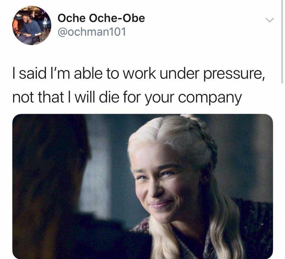 Work From Home Meme - Pressure