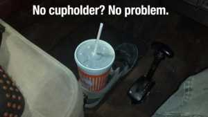 Genius Life Hack - Pair Of Cup Holders Wherever You Go