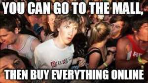 Relatable Shopping Memes - No Way