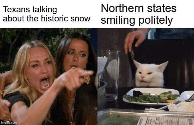 Texas Freeze Memes - Smile And Nod