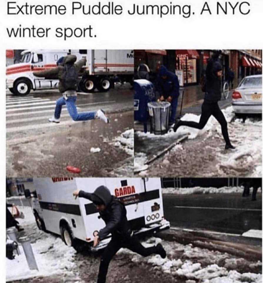 Texas Freeze Memes - Ok Not Texas But New Winter Sport