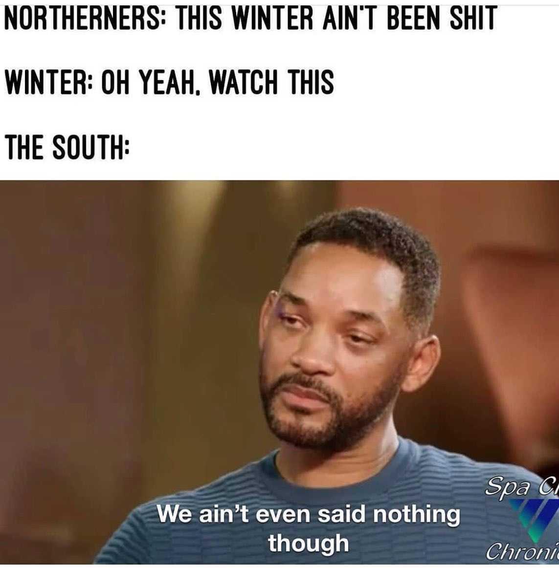 Texas Freeze Memes - Innocent Bystanders