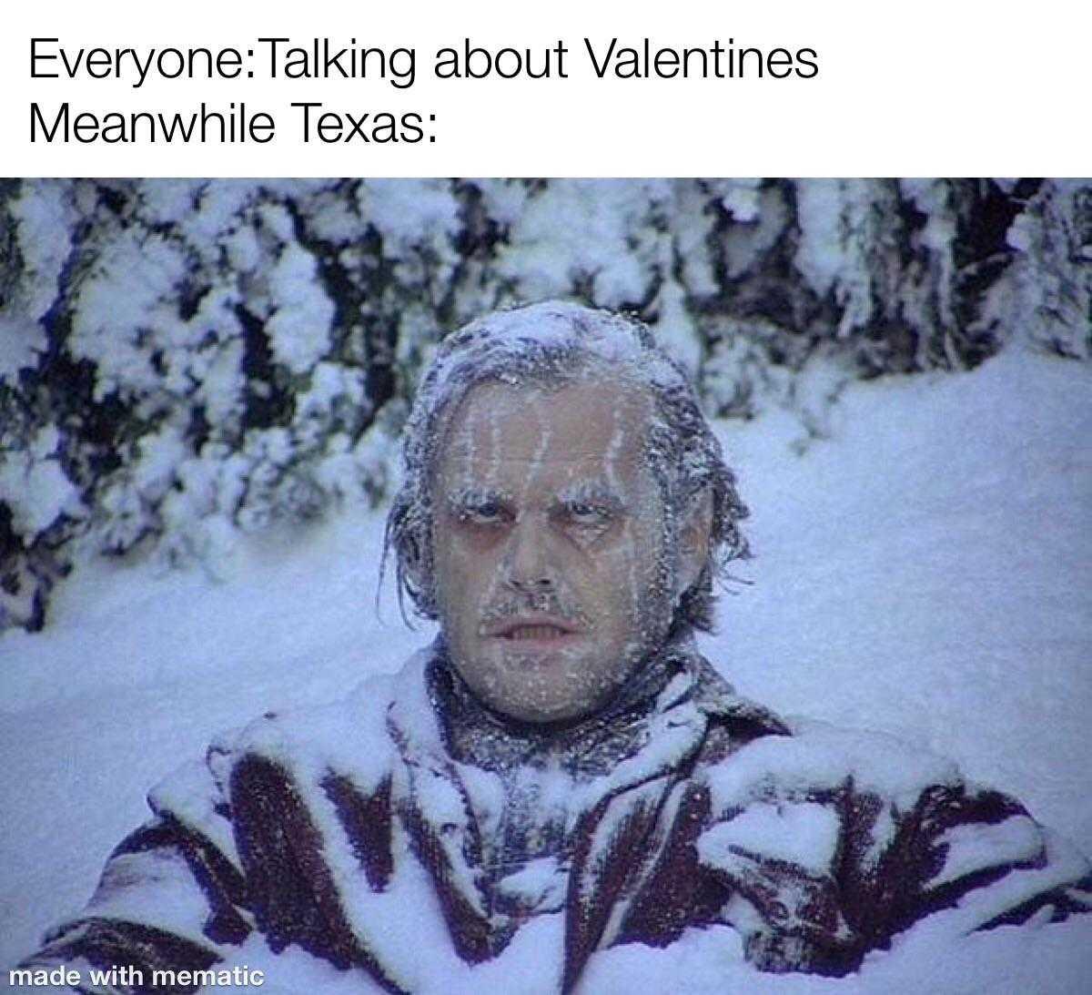 Texas Freeze Memes - Winter Sending Some Love