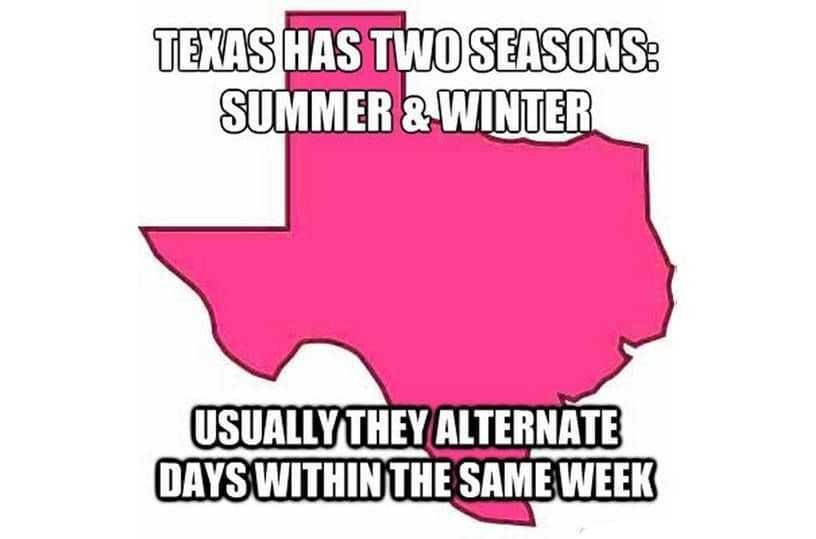 Texas Freeze Memes - Winter Surprise