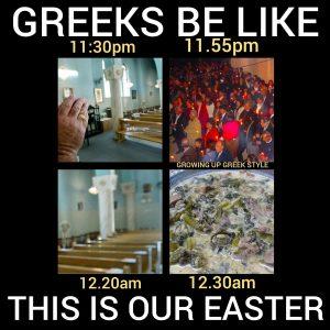 Funny Greek Easter Memes