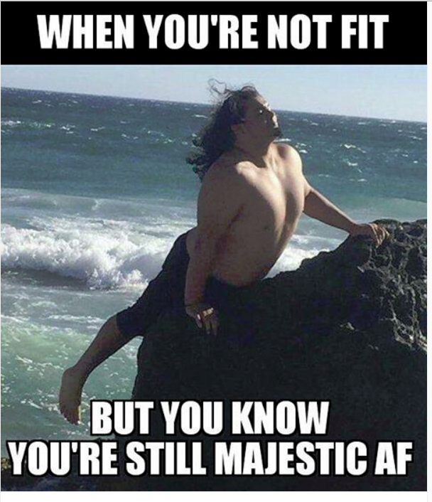 Beach Memes - you be you