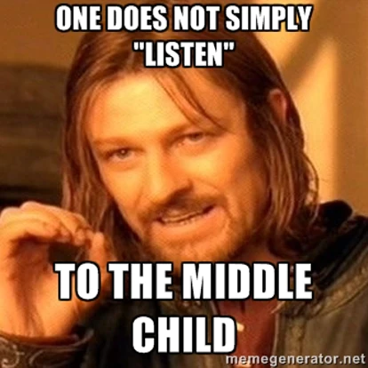 Twitter Middle Child Memes