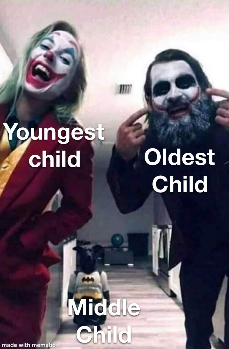 Middle Child Memes Funniest