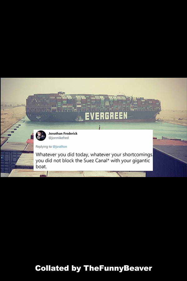 Funny Suez Canal Memes - perspectives