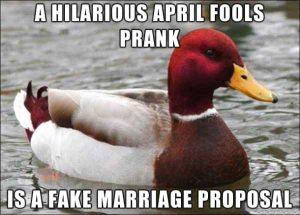 Funny April Fools Pranks and Memes