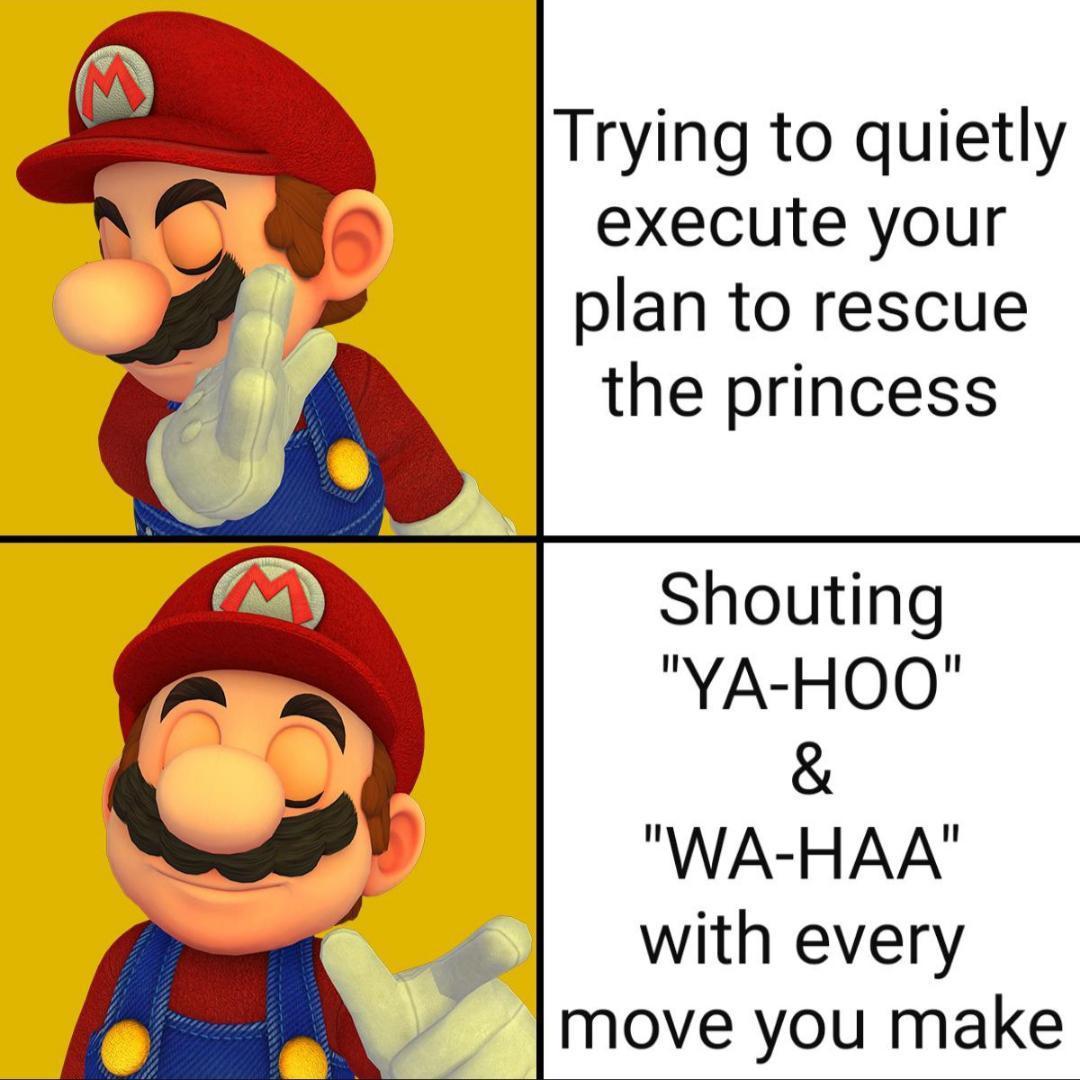 Mario Memes Pictures