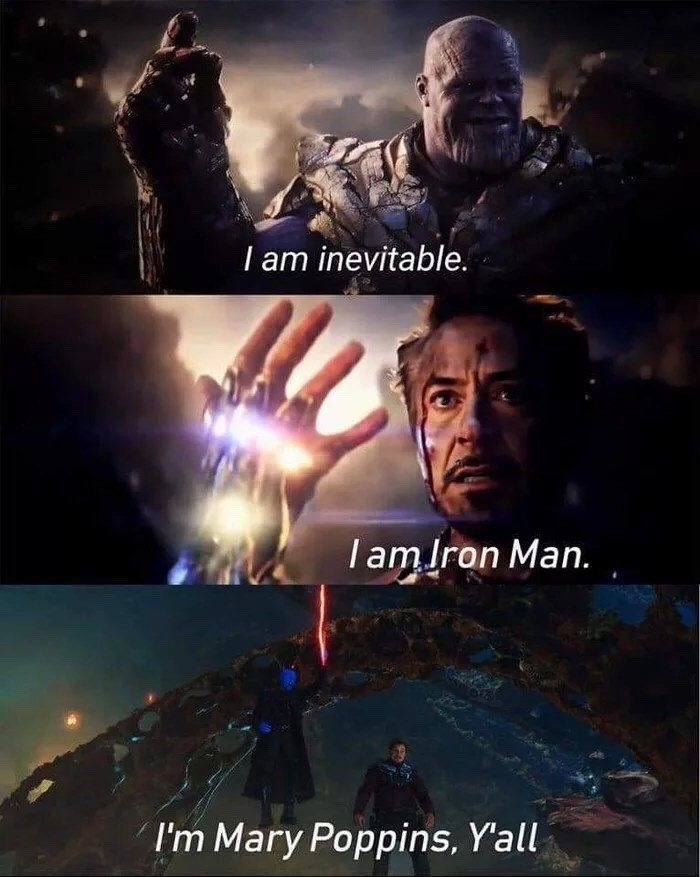Marvel Memes Poppins