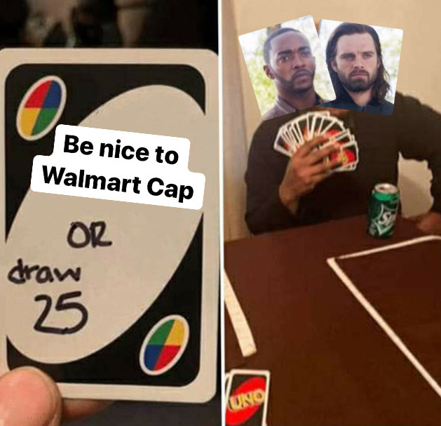 Marvel Memes Uno