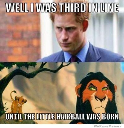 Comical Royal Family Memes